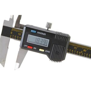 Pittsburgh 6 Digital Caliper Inch Metric Extra Battery Nib