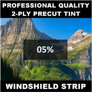 Chevy 1500 Silverado Truck Windshield Tint Strip Precut 5 Year Needed