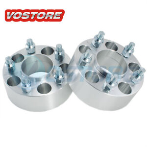 2 2 5x4 75 Hubcentric Wheel Spacers Adapter For Chevy Camaro S10 Cadillac Gmc