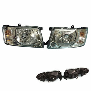 For Nissan Patrol Y61 4800 Pick Up 2013 Black Housing Cover Composite Headlight
