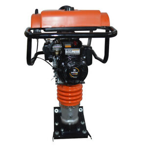 5 5 Hp Jumping Jack Tamper Compactor Gas Impact Rammer Jumping Tamping Epa