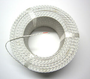 J type Thermocouple Wire Awg 24 Solid Wire Fiberglass Insulation Extension 1 Yd