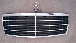 Mercedes Benz S Class 92 99 Oem W140 Grille With Hood Ornament 140 888 0123