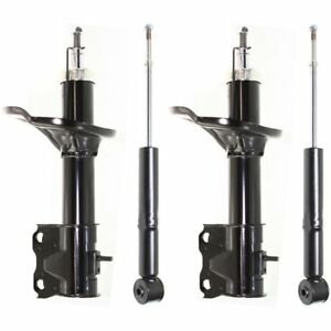 Shocks For 2004 Mitsubishi Lancer Fwd Gas Charged Front Rear Left Right 4pcs