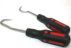 2pc Hose Seal Removal Hook Set 4 Coolant Vacuum Oil Or Power Steering Hoses