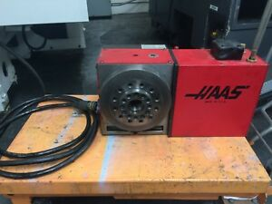 Haas Rotary Table Indexer Hrta6 A1 6 Spindle Air Collet Closer 17 Pin Connector