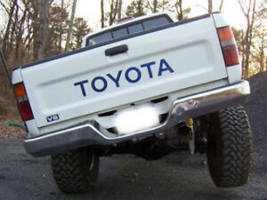 Toyota Tailgate Vinyl Decal Sticker Emblem Logo Graphic Blue Lettering Vehicles