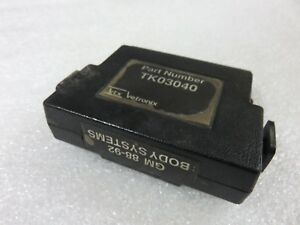 Vetronix Scanner Gm Tech 1 Tk03040 Cartridge 1988 1992 Body Systems Factory Oem
