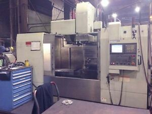 Monarch 50 Taper Cnc Vertical Machining Center With Fanuc 18i Cnc Control 2007