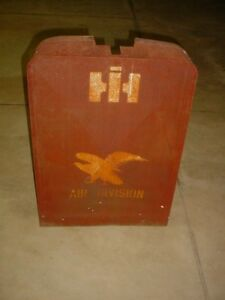 International Harvester Air Division Screen For Tractor Grill