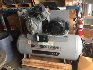 Ingersoll Rand T30 Electric Air Compressor 2 Stage 15 Hp 7100e15
