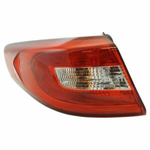 Outer Tail Light Lamp Assembly Lh Lr Driver Side For Hyundai Sonata New