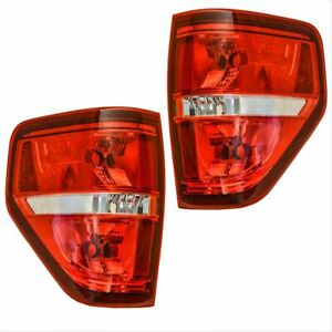 Tail Light Brake Lamp Lh Left Rh Right Pair Set For 09 14 Ford F150 Pickup Truck