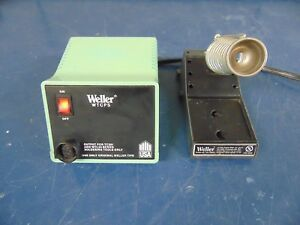 Weller Wtcps Pu120 Soldering Station And Stand R27x