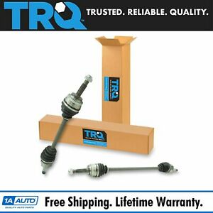 Trq New Front Complete Cv Axle Shaft Assembly Lh Rh Pair 2pc For Echo Xa Xb