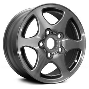 For Toyota Camry 97 99 14x5 5 6 Spoke Silver Alloy Factory Wheel Remanufactured