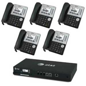 At t Smb Phone System With 4 line Analog Gateway Bundle