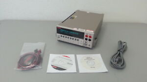 Keithley 2430 c 2430c Pulse Sourcemeter 100v 10a 1kw W Contact Check 2430