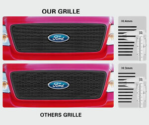 Fits 2001 2004 Toyota Tacoma Black Billet Grille Insert Combo