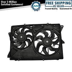 Engine Radiator Cooling Fan Assembly For Ford Explorer Flex Lincoln Mkt New