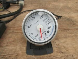 Jdm Defi Boost Gauge Defi Controller Ultra Count Down Turbo Timer