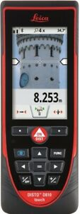 Leica Disto D810 Touch 660ft Laser Distance Measurer W bluetooth