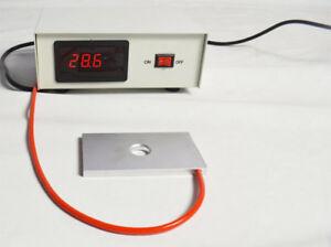 110v 150w Microscope Temperature Control Stage Slide Warmer W L 4 W 2 3 Plate