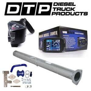 H S Mini Maxx Dpf Delete For Dodge Cummins Diesel 6 7 07 12 Egr S B