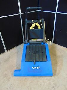 Clark Carpet Master 30 Commercial Vacuum Works Good Long Cord S2934