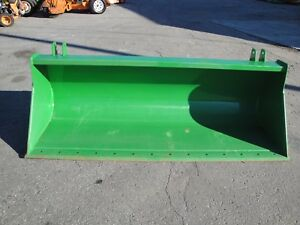 Unused John Deere 84 Inch Uro Global Style Quick Attach Bucket