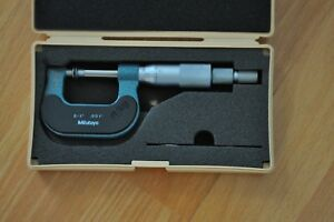 Mitutoyo Disc Micrometer 0 1 Inch Model169 103 Non rotating Spindle