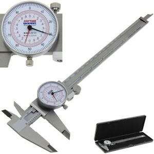 Dial Caliper 8 200mm Dual Reading Scale Metric Sae Standard Inch Mm Anytime