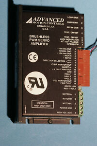 Advanced Motion Controls Brushless Pwm Servo Amplifier Bh15a8c