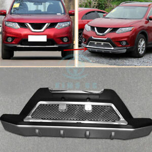 1pc Car Outside Front Bumper Protector Bumper Board For Nissan X Trail 2014 2016