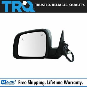 Mirror Power Heated Signal Memory Blind Spot Chrome Driver Left Lh For Durango