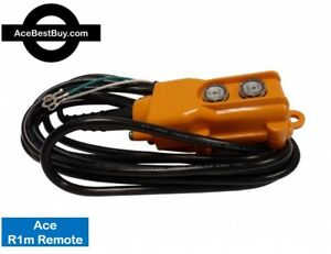 R1 Or R2 3 Or 4 Wire Ace Remote Control For Power Down Hydraulic Pump 12v 24v