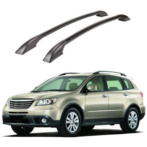 For Subaru Tribeca 2008 2014 Auto Cargo Roof Top Carrier Luggage Rack Rail Board