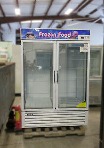 Turbo Air Tgf 49f Reach in Vertical Freezer 2 Glass Swing Doors 110v 220v