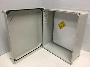 New Hoffman Hj1412hwlg Electrical Enclosure Height 7 Width 15 5 Length 12