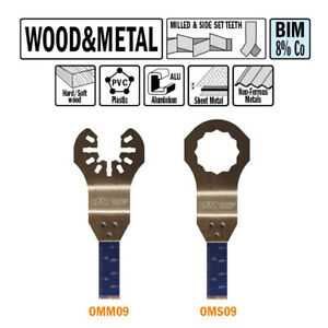 Cmt Omm09 x50 50 Pack 3 8 10mm Plunge And Flush cut For Wood And Metal