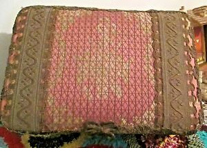 Victorian Antique Keepsake Box W Antique Victorian Fabric Lace Needlework