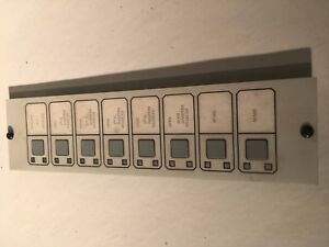 Est Edwards Gs Building 2 16r8s 270214 Annunciator Panel switches F Est2 130363