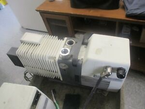 Varian Model Ty P1145337 Rotary Vane Pump N 338893 With Somer 103748 Mtr