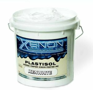 New Screen Printing Plastisol Ink Xenon White