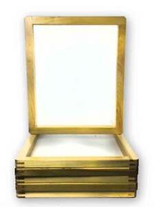 6 pack Wood Screen Printing Frames 20 x24 With 110 Mesh