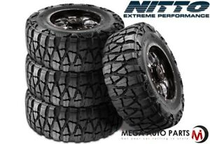 4 X Nitto Mud Grappler X Terra 35x12 50r17 125p E 10 Extreme Mud Terrain Tires