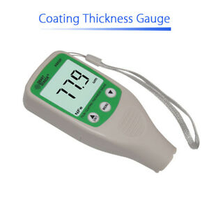 Car Digital Coating Thickness Gauge Paint Meter Tester Refinishing Automotive