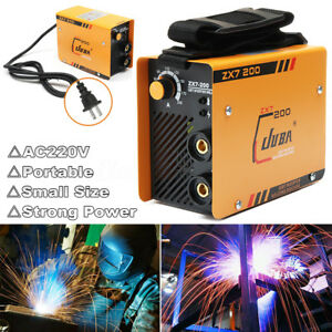 Portable Mini Igbt Zx7 200 Full Copper Core Dc Inverter 200a Arc Welding Machine