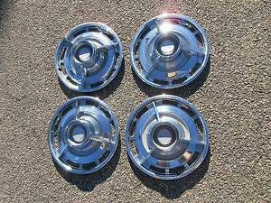 1963 Chevrolet Impala Ss Spinners Hubcaps Wheel Covers Nice