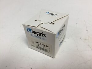 Lot Of 10 New Legris 3175 60 18 Strait Female Connector tube To Npt 3 8 Od 3 8